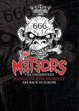 Bild: The Meteors - + Evil Daltons