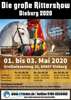 Bild: Die Große Rittershow Dieburg 2020 - Das Drachensiegel der Freiheit