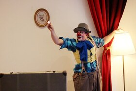 Bild: Clown Kürbis - Ein clowneskes Theaterstück