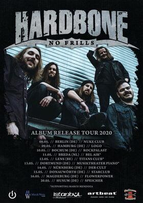 Hardbone - No Frills Release Tour