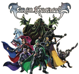 Bild: Grailknights - Superhero-Metal