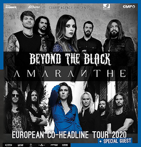 Bild: BEYOND THE BLACK & AMARANTHE - Co-Headline Tour 2020
