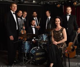 Bild: The Gentlemen Orchester mit  Evelyn Keller: Bel Ami