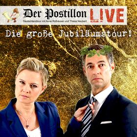 """Der Postillon - LIVE: """"Die große Jubiläumstour"""""""
