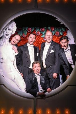 Bild: Die Comedian Harmonists Deluxe - im Hotel Erbprinz mit 4-Gänge Menü