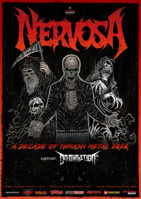 Bild: Nervosa - A Decade Of Thrash Metal 2020