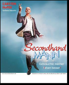 Bild: Secondhand MANN - Gentlemannkabarett - Zum ersten Mal im Walzwerk