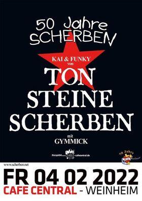 Bild: Kai & Funky mit Gymmick, 50 Jahre Ton Steine Scherben