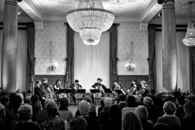 Bild: Cello-Oktett des Sinfonieorchesters Basel