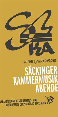 Bild: Säckinger Kammermusik-Abende, 74. Zyklus 2020/21