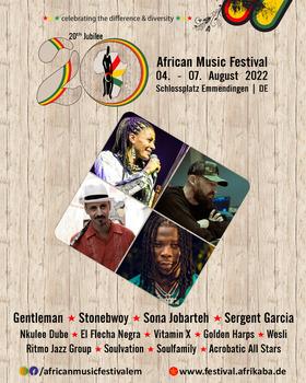 Bild: African Music Festival 2021 - Festivalpass