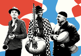 Bild: JMO - Jan Galega Brönnimann, Moussa Cissokho & Omri Hason: Dandoula Tala