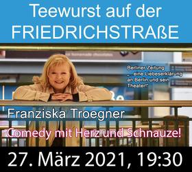 Bild: Teewurst auf der Friedrichstraße
