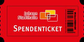 Bild: Spendenticket - Danke für Ihre Unterstützung - #seidabei - fiktives Konzert - es findet keine Vorstellung statt