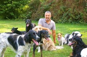 Bild: Andreas Ohligschläger - Weggefährten - von Menschen und Hunden