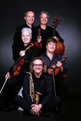 Bild: Niederschlagsmengen - Roger Hanschel, Saxophon & Auryn Quartett