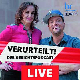 Bild: Basti Red & Heike Borufka - Verurteilt- Der Gerichtspodcast Live