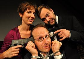 Bild: Mordlust - Die improvisierte Krimi-Komödie - Im Rahmen des Comedy-Sommers/ Open-Air Veranstaltung