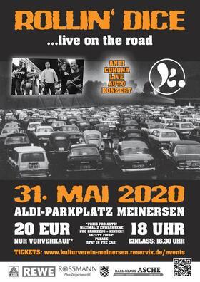 Bild: Autokonzert: Rollin´ Dice  ... live on the road - 1. Wunschkonzert - gegen den Corona-Frust