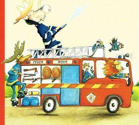 Finn, der Feuerwehrelch - Figurentheater für Kinder ab 3 Jahren