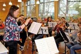 Bild: Konzert des Orchesters am Werner-Jaeger-Gymnasium - Zusatzprogramm