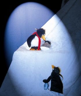 Bild: Balduin der Pinguin