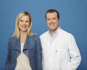 Nina Ruge und Dr. Dominik Duscher: