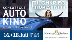 Bild: Milchkrieg in Dalsmynni: Achtung! Autokino wird OPEN AIR KINO