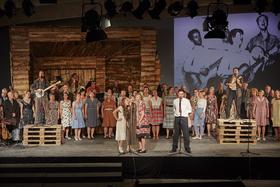 Bild: Pete Seeger - Theater Lindenhof