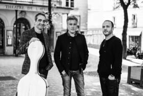 Bild: Trio Messina - Patrick Messina, Klarinette; Raphaël Perraud, Violoncello;