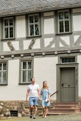 Bild: Das Lottehaus in Wetzlar - Besuch des Museums