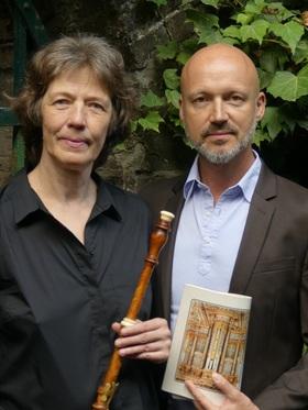 Bild: CONCERT ROYAL, Köln - Karla Schröter, Barockoboe; Markus Märkl, Orgelpositiv