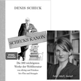 Bild: Die schöne Welt der Literatur - Denis Scheck und Anne-Dore Krohn - Open Air