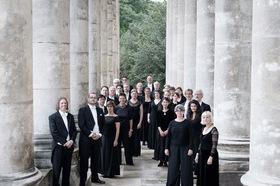 Bild: Kölner Akademie - Solistin: Hanna Herfurtner, Sopran; Solist: Willi Kronenburg, Orgel