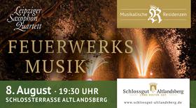 Bild: Feuerwerksmusik mit Feuerwerk - Open Air