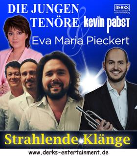 Bild: Strahlende Klänge - drei jungen Tenöre, Eva Maria Pieckert, Kevin Pabst