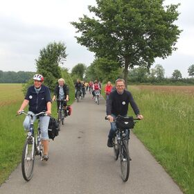 Bild: Familienradtour zum O-See