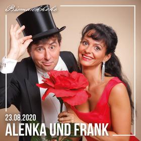"""Bild: Picknick-Konzert """"Operetten zum Kaffee"""" mit Alenka Genzel und Frank Matthias"""