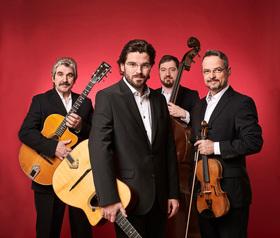 Bild: Joscho Stephan Quartett (Achtung: neuer Spielort!)