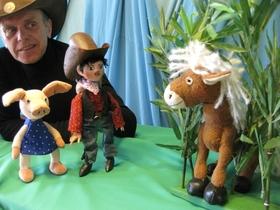 """Bild: """"AUTO KINO & BÜHNE"""" - Cowboy Klaus und das pupsende Pony"""