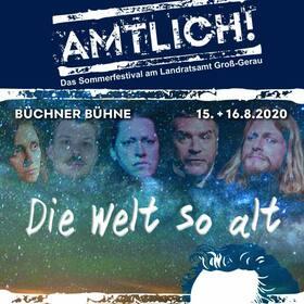 Bild: BüchnerBühne Riedstadt - Büchner goes HipHop - Die Welt so alt - AMTLICH! Das Sommerfestival am Landratsamt