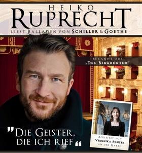 """Bild: """"D ie Geister , die ich rief ..."""" - Ein feiner Balladenabend mit Heiko Ruprecht und Veronika Ponzer"""