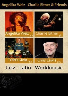 Bild: Angelika Weiz, Charlie Eitner & Friends - Soul und Jazz im Vorpommernhus