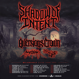Bild: Shadow Of Intent + Aversions Crown + Angelmaker + The Last Ten Seconds Of Life - Live @ Naumanns Leipzig