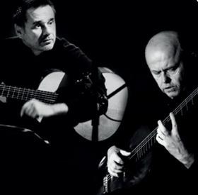 Bild: Duo Pavel Steidl und Edin Karamazov - Kultursommer MainDreieck 2020
