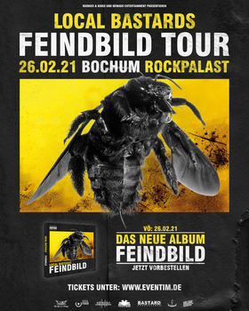 Bild: Local Bastards - Feindbild Tour