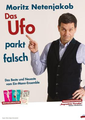 Bild: Moritz Netenjakob - Das Ufo parkt falsch