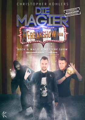 DIE MAGIER 4.0 - Comedy, Magic & Mystery Show