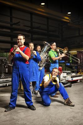 Bild: Kinderkonzert: Die Blecharbeiter - Sonus Brass