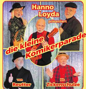 Bild: Die kleine Komikerparade - Hanno Loyda